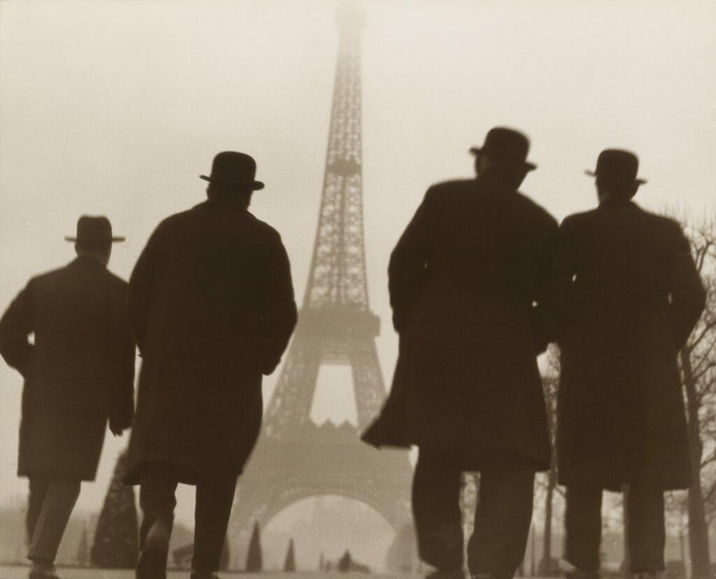 Else Thalemann, Eiffelturm, um 1930, Silbergelatineabzug, Sammlung Siegert, München, Foto: Christian Schmieder © unbestimmt