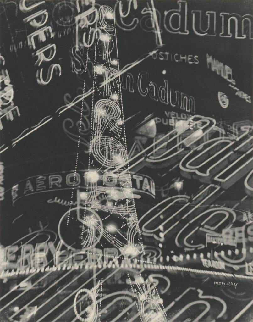 Man Ray (1890–1976), La Ville (Mappe Électricité), 1931, Heliogravüre, Sammlung Siegert, München, Foto: Christian Schmieder © Man Ray 2015 Trust / VG Bild-Kunst, Bonn 2020