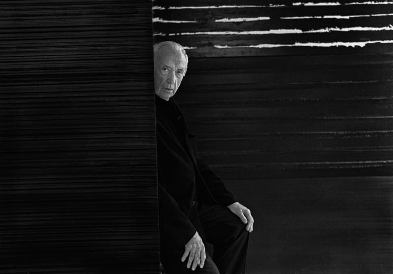 Raphael Gaillarde, Portrait Pierre Soulages, 2009, Fotografie, RMN, Foto: Raphael Gaillarde © RMN