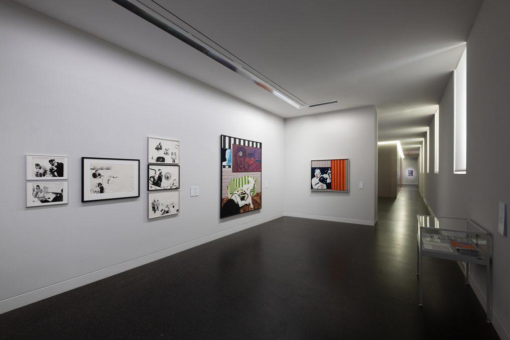 Uwe Lausen und Heide Stolz, Du lebst nur keinmal. Ausstellungsansicht, 2020, Foto: Frank Krüger