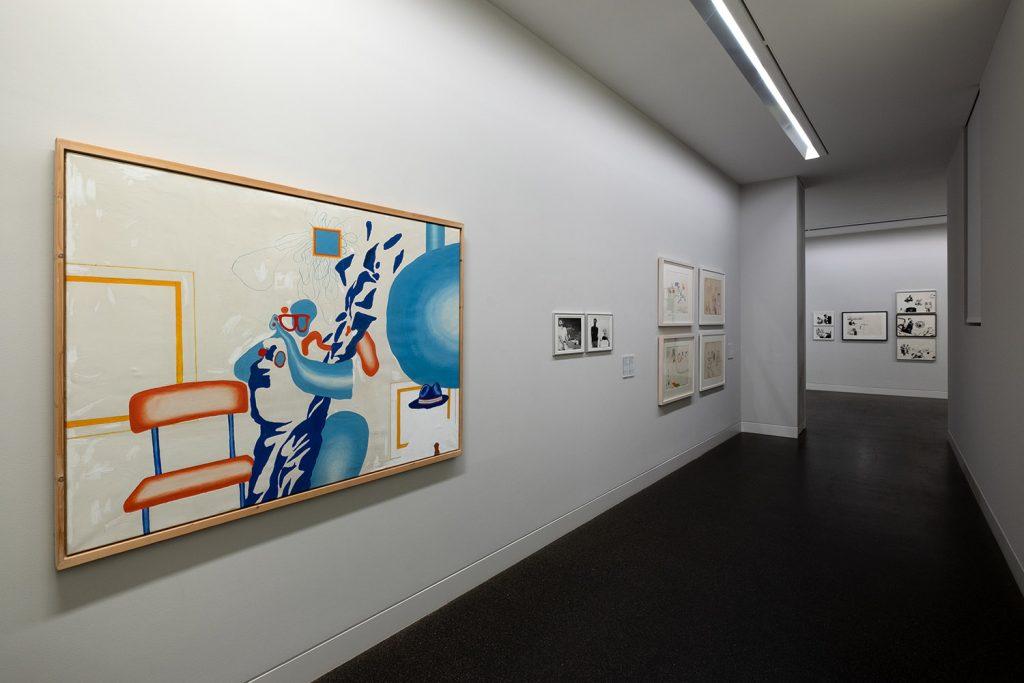 Uwel Lausen und Heide Stolz, Du lebst nur keinmal. Ausstellungsansicht, 2020, Foto: Frank Krüger