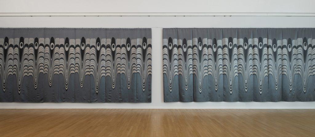 Olaf Nicoali, Yeux de Paon, Ausstellungsansicht , 2020, Foto: Frank Krüger