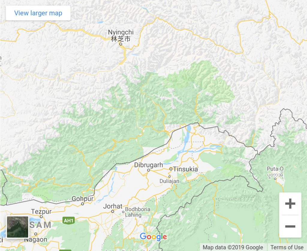 Simon Weckert, Google maps Boarders (China), 2019, Installation © VG Bild-Kunst, Bonn 2021