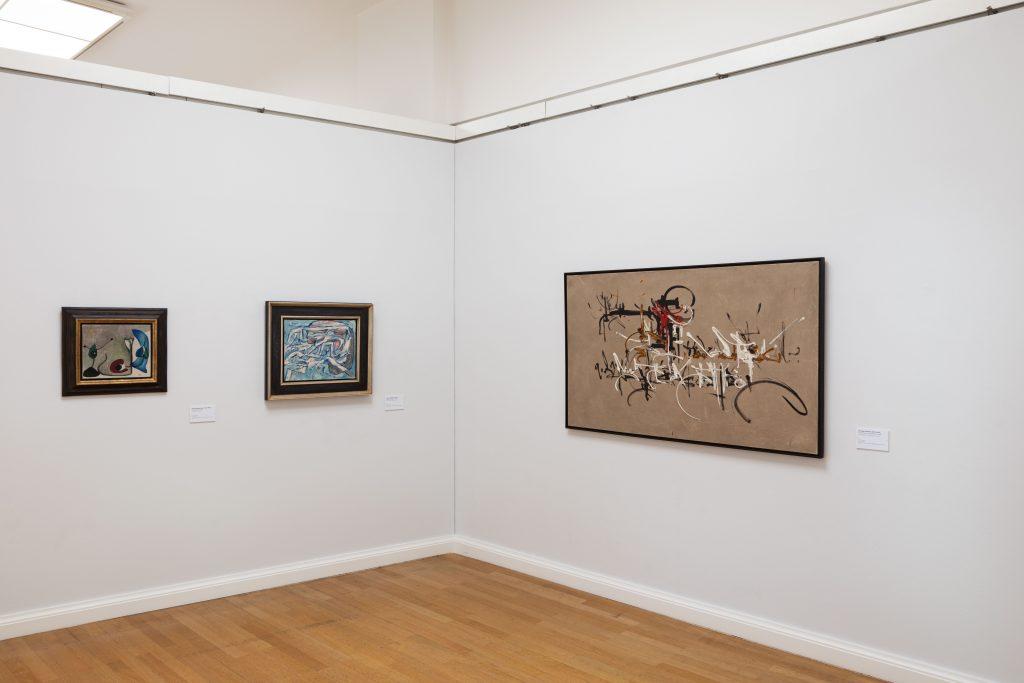 Ausstellungsansicht, Foto: Kunstsammlungen Chemnitz/Alexander Meyer © VG Bild-Kunst, Bonn 2020
