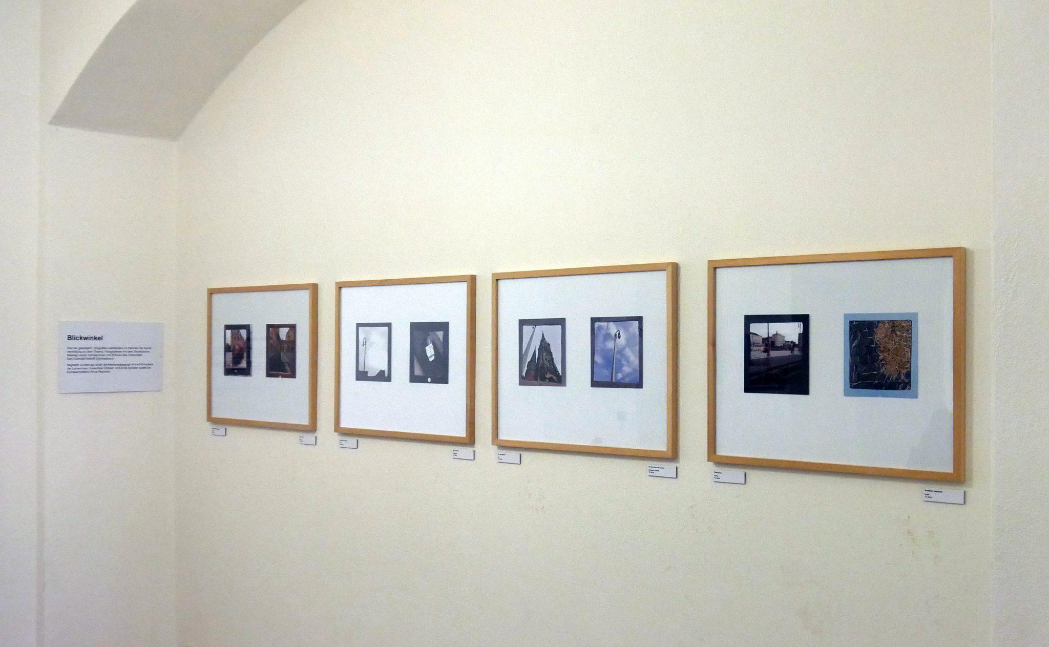 Kinder- und Jugendgalerie, Ausstellung »Blickwinkel«, Foto: Kunstsammlungen Chemnitz/Archiv