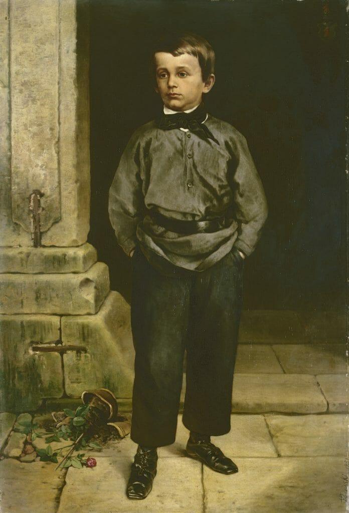 Ferdinand von Rayski (1806–1890), Bildnis Konrad von Posern , 1851, Öl auf Leinwand , 135 x 92,4 cm, Kunstsammlungen Chemnitz, Foto: Kunstsammlungen Chemnitz/May Voigt