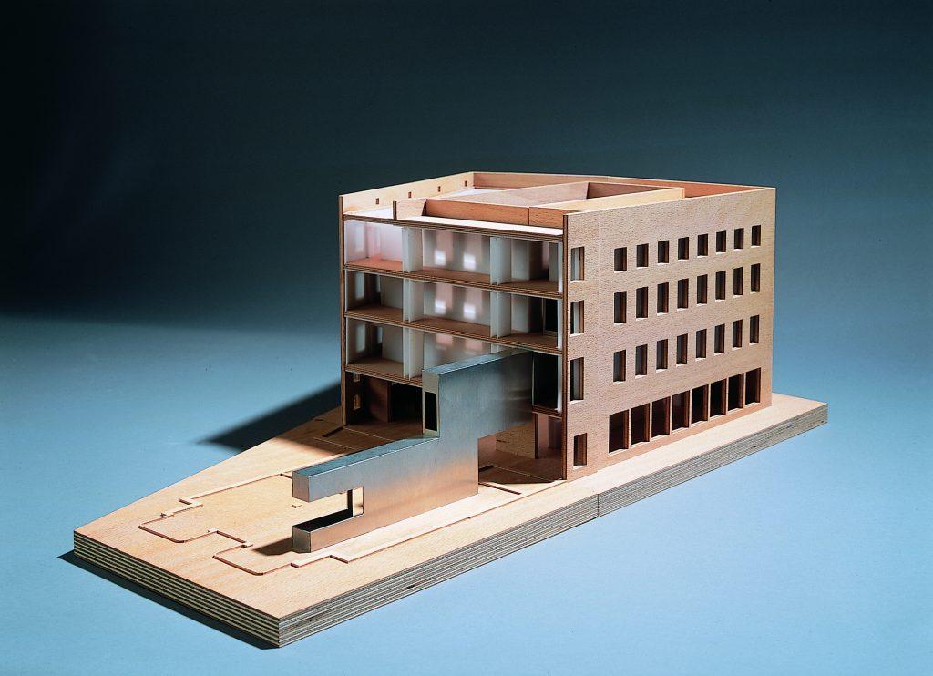 Modell des Museum Gunzenhauser (Staab Architekten)