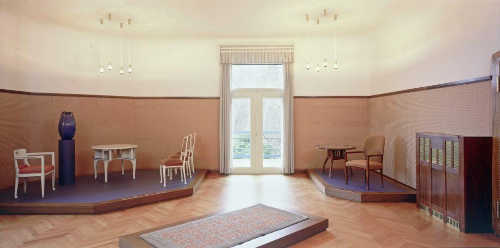 Henry van de Velde Museum in der Villa Esche (ehemaliges Schlafzimmer), 2002, Foto: Kunstsammlungen Chemnitz/PUNCTUM/Hans-Christian Schink © VG Bild-Kunst, Bonn 2020
