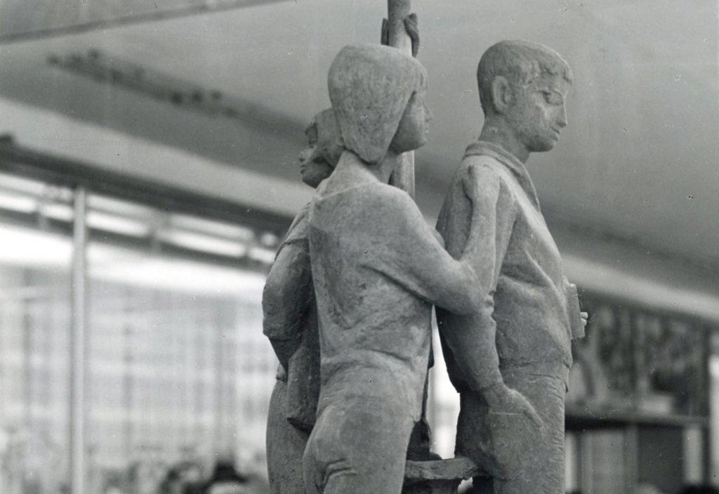 Johann Belz, Jugendbrunnen, 1965, Foto: Kunstsammlungen Chemnitz - Schloßbergmuseum