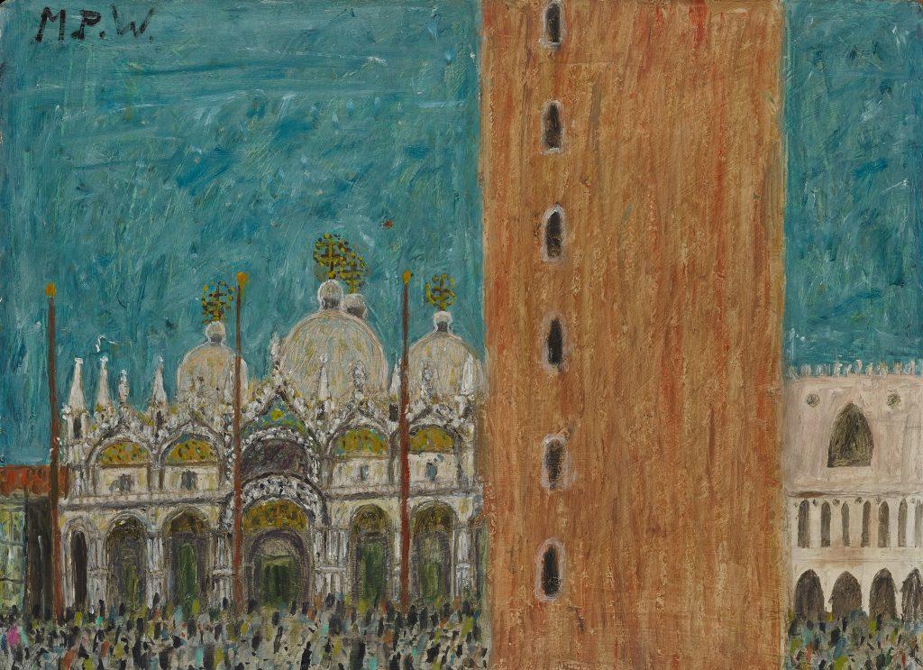 Max Peiffer Watenphul, Venedig - S. Marco, Sammlung Gunzenhauser