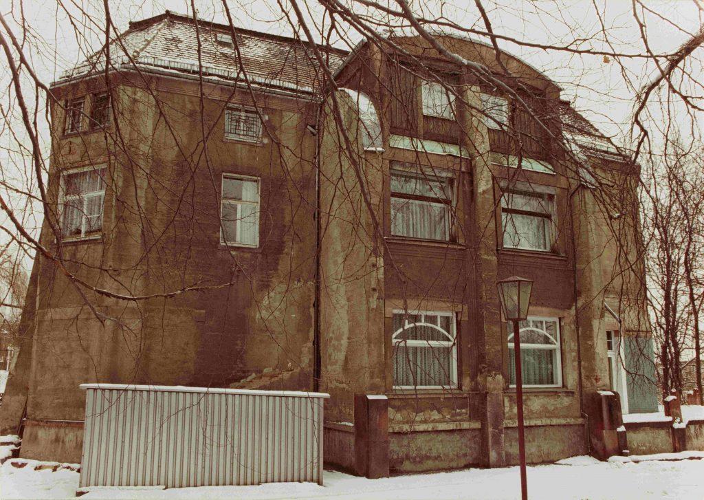 Villa Esche, Ansicht von Südwesten, um 1985, Foto: Kunstsmmlungen Chemnitz/Jürgen Gerhardt
