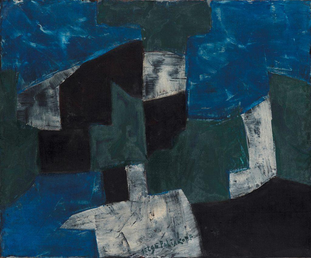 Serge Poliakoff, Composition abstraite, 1959, Foto: Bertram Kober © © VG Bild-Kunst, Bonn 2020