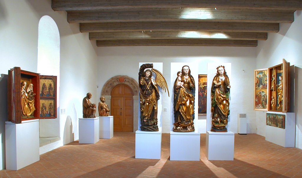 Schloßbergmuseum, Refektorium, Foto: Kunstsammlungen Chemnitz/Schloßbergmuseum
