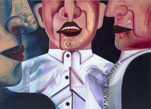 Sebastian Gögel, Connection, 2014, Öl auf Leinwand, 130 x 180cm © Sebastian Gögel