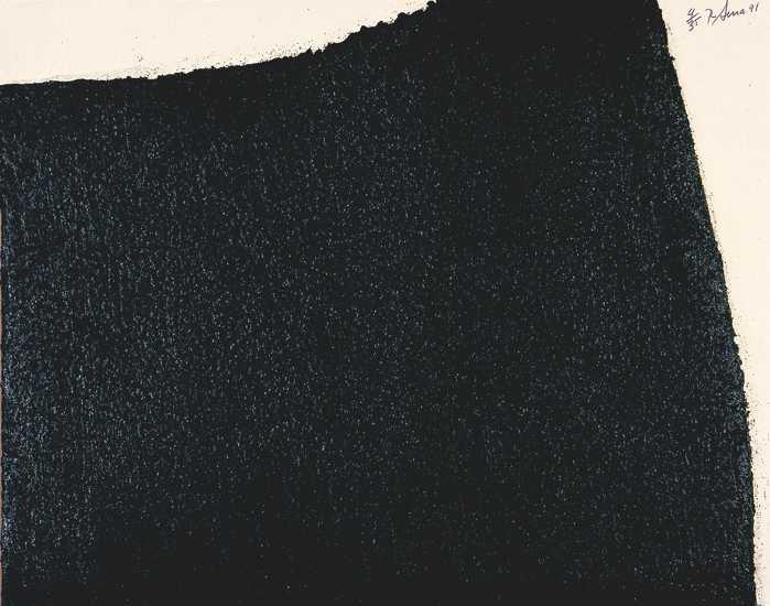 Richard Serra, Hreppholar IV, 1991, Radierung mit Intaglio-Konstruktion, 79,4 x 101 cm, Kunstsammlungen Chemnitz, Foto: Kunstsammlungen Chemnitz/László Tóth © 2021 Richard Serra / Artists Rights Society (ARS), New York