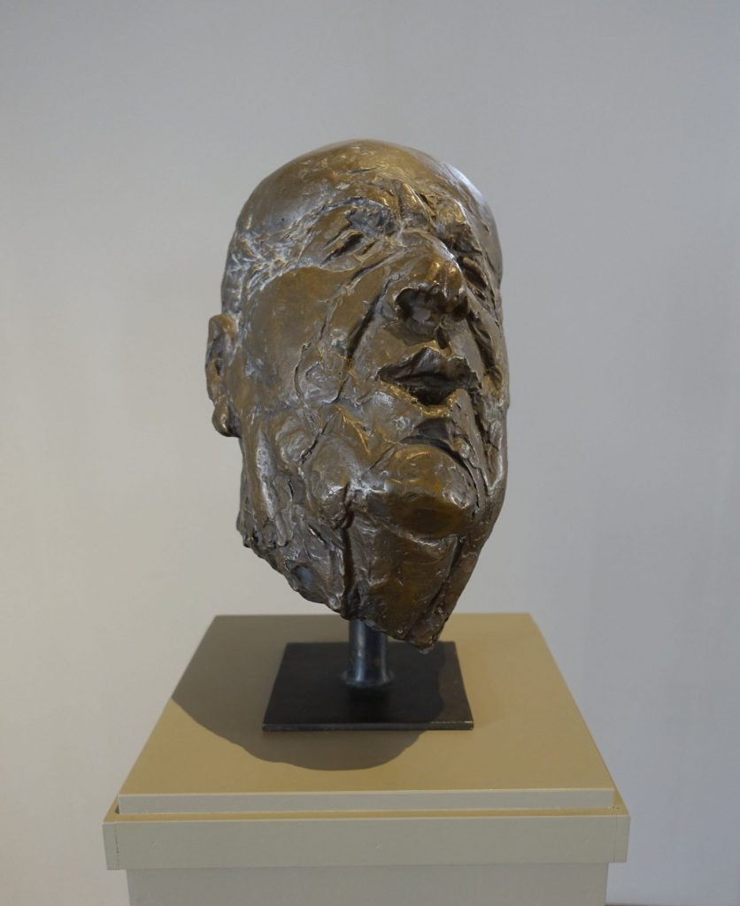 Volker Beier (*1943), Addi Jacobi, 2002, Bronze, Höhe: 42 cm, Foto: Kunstsammlungen Chemnitz/Schloßbergmuseum/László Tóth © 2019 Volker Beier