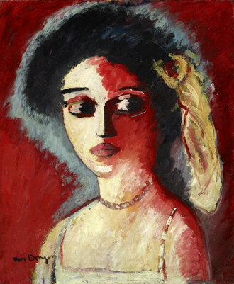 Kees van Dongen (1877–1968), Guus van Dongen, 1906/1907, Öl auf Leinwand, 61 x 50,5 cm, Kunstsammlungen Chemnitz, Dauerleihgabe Sammlung Claus Hüppe © VG Bild-Kunst, Bonn 2017